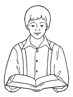 254 best LDS Children's coloring pages images on Pinterest