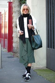 Lucinda Chambers #vogue uk Photo : Mentha Arvensis