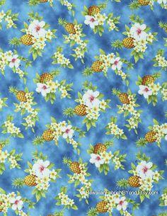 647758ba Fabrics Hawaii Tropical Upholstery Polynesian Tattoo by HawaiianFabricNBYond