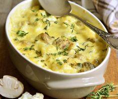 Ένα πολύ νόστιμο φαγητό, ιδανικό για να ανοίξει ακόμη και ένα γιορτινό τραπέζι. Όσο για τη μπεσαμέλ, η έτοιμη Μπεσαμέλ ΓΙΩΤΗΣ θα κάνει την προετοιμασία παιχνιδάκι. Greek Recipes, Veggie Recipes, Vegetarian Recipes, Cooking Recipes, Healthy Recipes, The Kitchen Food Network, Vegetable Casserole, Tasty, Yummy Food