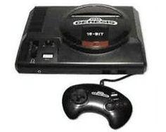 (Sega Genesis System Original Console + Sonic The Hedgehog) ON SALE NOW! W/FREE U.S. SHIPPING - AllStarVideoGames.com