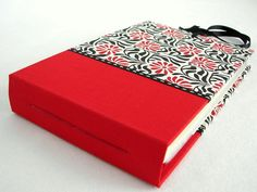 Mini Photo Album  Red and Black by Scroll