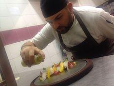 Daniele Ladaga, il nostro chef, spiega le ricette del nostro menú