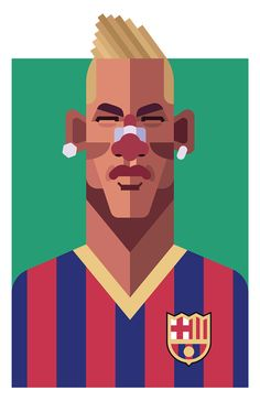 Neymar by Daniel Nyari