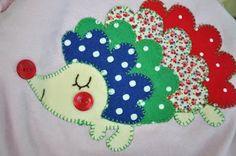 Izzy & Ivy designs: Henrietta the Hedgehog...FREE applique