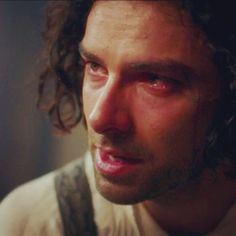 Aidan Turner as a heartbroken Ross Poldark