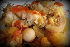 Bacalhau tradicional: www.confrariadacasserole.blogspot.com.br