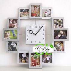 Unique Photo frame Wall Clock Christmas Gift