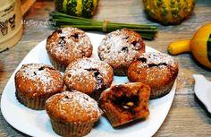 Smak, zapach, kolor, tradycja z nutką nowoczesności...: Muffiny dyniowe z kremem bananowym - dyniowe babec...