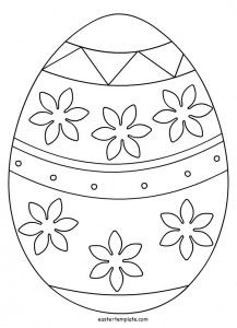 """Free Printable Easter Bunny Coloring Pages from Easter Coloring Pages. Easter is a celebration of Christians who commemorate the event of Jesus Christ being revived (or """"resurrected""""). Easter celebrations are popular wit. Easter Coloring Pictures, Easter Bunny Colouring, Easter Egg Coloring Pages, Spring Coloring Pages, Easter Pictures, Coloring For Kids, Easter Egg Template, Easter Templates, Easter Egg Designs"""