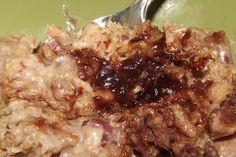 Victoria's Gluten Free Kitchen: Overnight Crock-pot NUTella Oatmeal