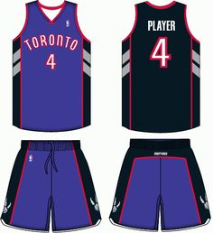 save off 329ca 44d6f Toronto Raptors - Vince Era Road Logo, Toronto Raptors, Basketball Jersey,  Sports Logos