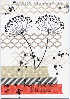 Stampin' Up! Cards - Summer Silhouettes, Gorgeous Grunge, Epic Day This & That Washi Tape