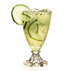 cucumber cooler. with tequila!