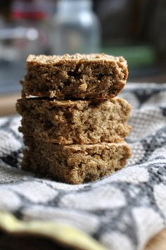 """Lemon. Cardamom. Oat bars. Not so sure about the """"oat bar"""" part, but come on...Lemon AND Cardamom? It's worth a shot!"""