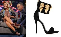 """SPOTTED: NeNe Leakes Wearing Giuseppe Zanotti On The """"Arensio Hall"""" Show « Shoefessional"""