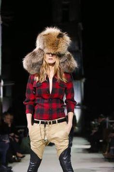 Dsquared2 Menswear Fall Winter 2015 Milan - NOWFASHION Fall Winter 2015, Winter Hats, Live Fashion, Fashion Show, Runway Fashion, Latest Fashion, Dandy, Dsquared2, Milan