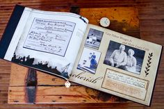 List of potential items to include in your Family History Book