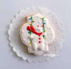 Snowman cookie                                                                                                                                                                                 More