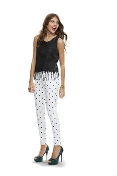 Fun up a basic outfit with fringe.     - Seventeen.com