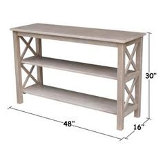 Whitewood Industriess Industries Hampton Weathered Taupe Gray Console Table – The Home Depot – Farmhouse table diy Console Table Decorating, Decor, Furniture, Diy Baby Furniture, Diy Home Decor, Diy Furniture Plans, Furniture Projects, Home Furniture, Home Decor