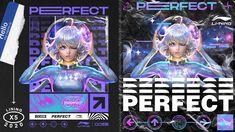 炫舞X李宁-星浪潮 on Behance Gaming Banner, Maxon Cinema 4d, Anime Japan, Graphic Design Posters, Visual Effects, Art Direction, Adobe Illustrator, Cyber, Photoshop