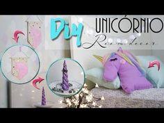 DIY: Decoração de Quarto de Unicórnio - Room Decor Ft. Dany Martines - YouTube
