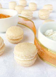 Candy's: Rákóczi túrós macaron Jambalaya, Macaroons, Flan, Biscotti, Cheesecake, Muffin, Candy, Cookies, Baking