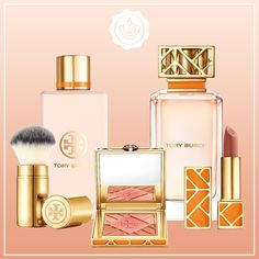 Tory Burch has released her first ever beauty line. It includes a fragrance, lipstick, blush, brush, and more! Don't forget to enter our sweepstakes with Byrdie: http://campaigns.glossybox.com/us/w-byrdie-sweepstake/