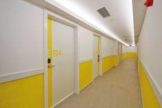 girls dormitory corridor design #rendahelindesign #winner #award #europeanpropertyawards #publicserviceinterior #publicservicesdevelopment #propertyawards #decor #decoration #interior #interiordesign #konforist #dorm #girls #InternationalPropertyAwards