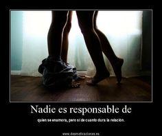 Esq' nadie es responsable :(