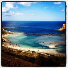 One of the most special landscapes you have ever seen, Balos beach and Gramvousa cape in Crete in Crete will certainly amaze you! Balos Beach, Beach Fun, Tree Branches, Greece, Exotic, Art Pieces, Landscape, Amazing, Beaches