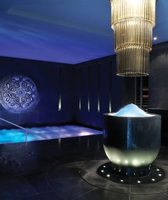 Ice Chute + Vitality Pool by ESPA at Hotel Europe