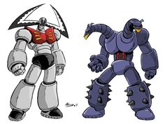 Mechanical Beasts (by ~NachoMon on deviantART)
