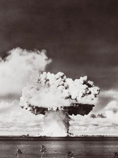 Nuclear Bomb Explosion, Baker Day Test, Bikini, 25th July 1946