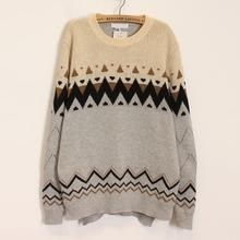 Momewear - Nordic-Pattern Sweater
