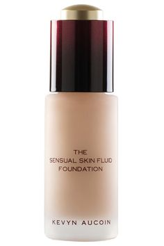 Your best bet for light coverage that feels more like a silky serum than makeup. Kevyn Aucoin Beauty Sensual Skin Fluid Foundation, $65, nordstrom.com.   - HarpersBAZAAR.com
