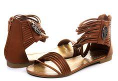 #Kitten Sandále - Boris 12 - super k džínsovine, čo poviete?