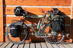 Surly loaded for touring
