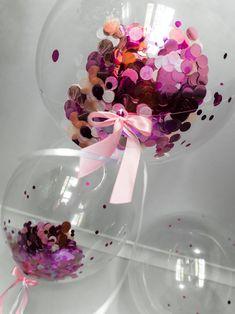 Pink Confetti Bubble Balloon #Pinkballoon #Pinkconfetti #Glitterballoon #Confetti #Bubbleballoon #Pinkparties #Girl #Girls #Girlsparties #Birthday #Birthdayideas #Adelaideballoons #Celebration #Partydecor #Decor #Balloonsadelaide #PuffandPop