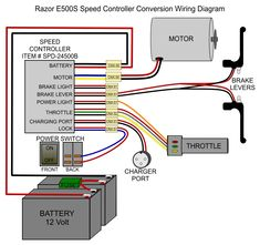 Electric Bike Controller Wiring Diagram in addition