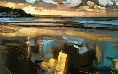 Young Devon artist, specialising in landscape and figure paintings, in any media type Landscape Artwork, Contemporary Landscape, Cool Landscapes, Abstract Landscape, Modern Impressionism, Seascape Paintings, Painting Trees, Art Photography, Illustration Art