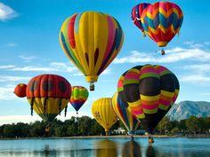 photographie montgolfiere