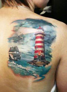 Lighthouse by Valentina Ryabova