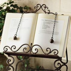 cooking book holder