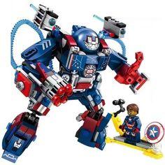 Lego Robot, Lego Batman, Lego Marvel, Legos, Lego Batmobile, Lego Iron Man, Iron Man Suit, Lego Mechs, Cool Lego Creations