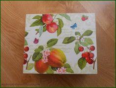 Mój świat kolorów...: Z owocowym i kuchennym motywem...