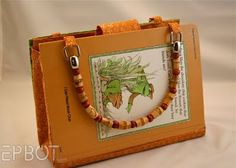 For the older library kids...book purse.  Librarian Awesome.