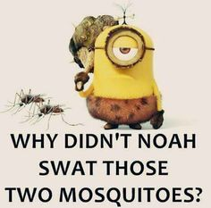 Yeah... Buuut Actually... Mosquitos lay eggs in water, so doubtful they were on the ark, since lots of larvae (wigglers and tumblers) were in the water already. ;)