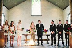 bride designed gold sequined stunner